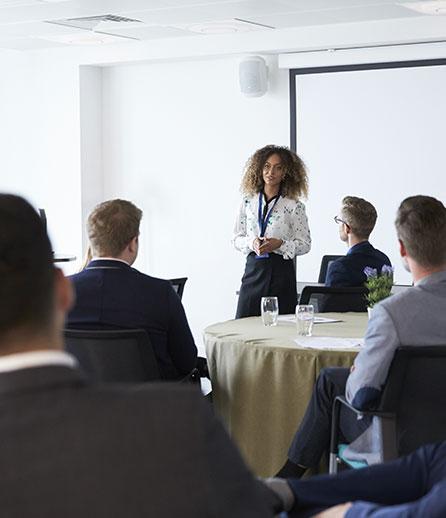 Keynote-Speaking at resource solutions